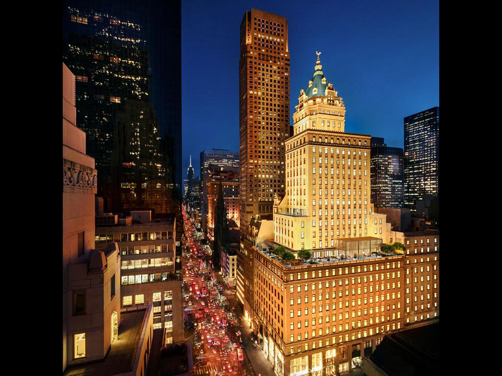 Das neue Aman New York befindet sich Ecke Fifth Avenue 57th Street in Manhattan
