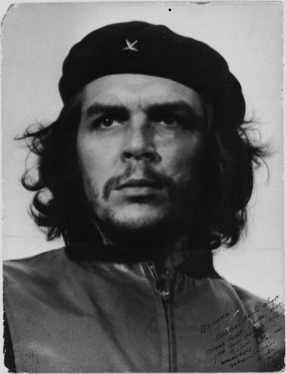 Alberto Korda Che Guevara, 1960 s/w-Fotografie aus der Skrein Photo Collection.