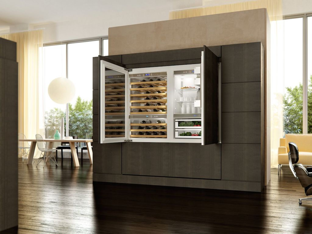 Kitchenaid Kühlschrank Side By Side : Wohnraum und küche verschmelzen mit edles küchengeräten von kitchenaid