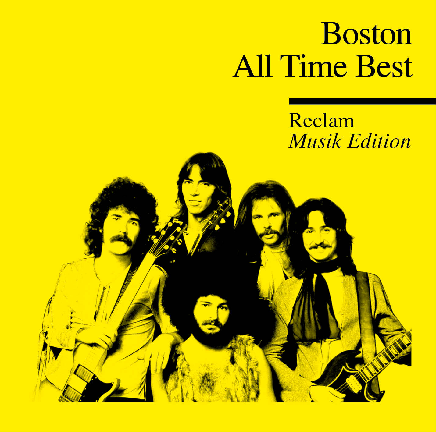 Reclam praesentiert Album Boston - All Time Best
