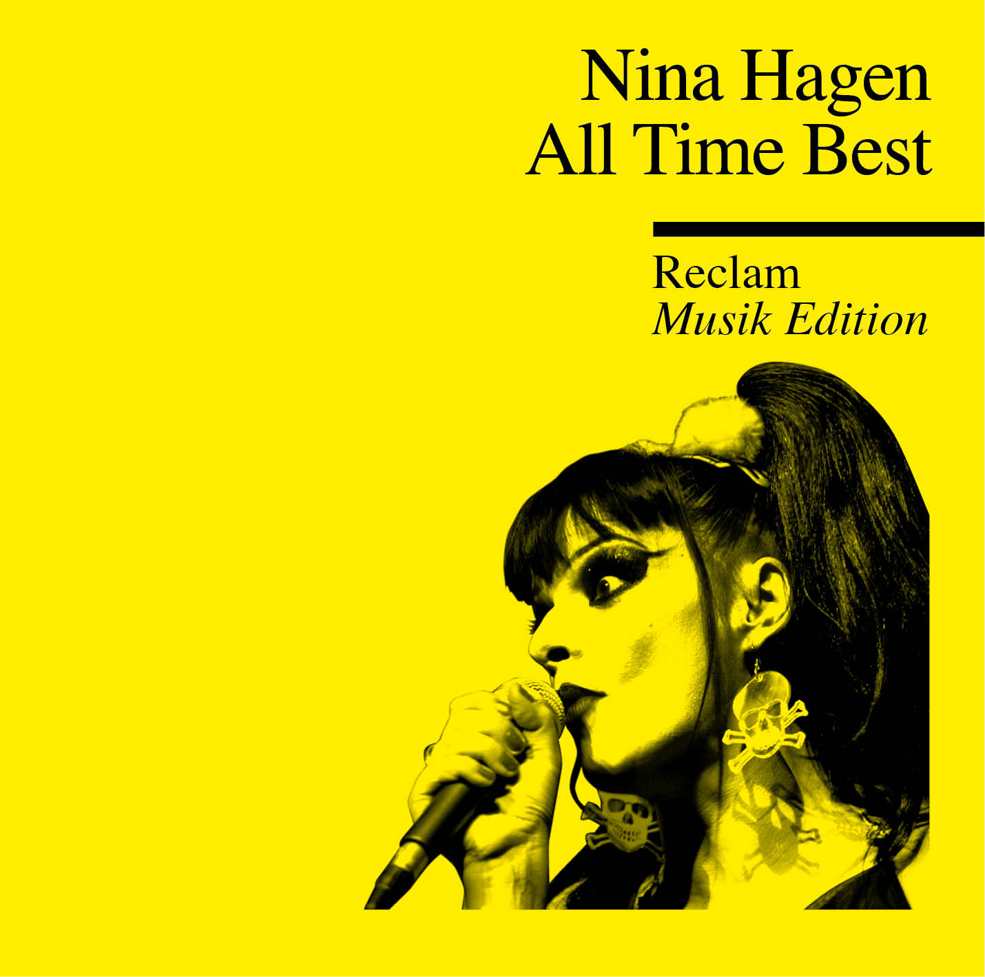 Reclam praesentiert Album Nina Hagen - All Time Best
