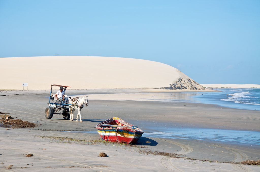 Nationalpark Jericoacoara in Brasilien