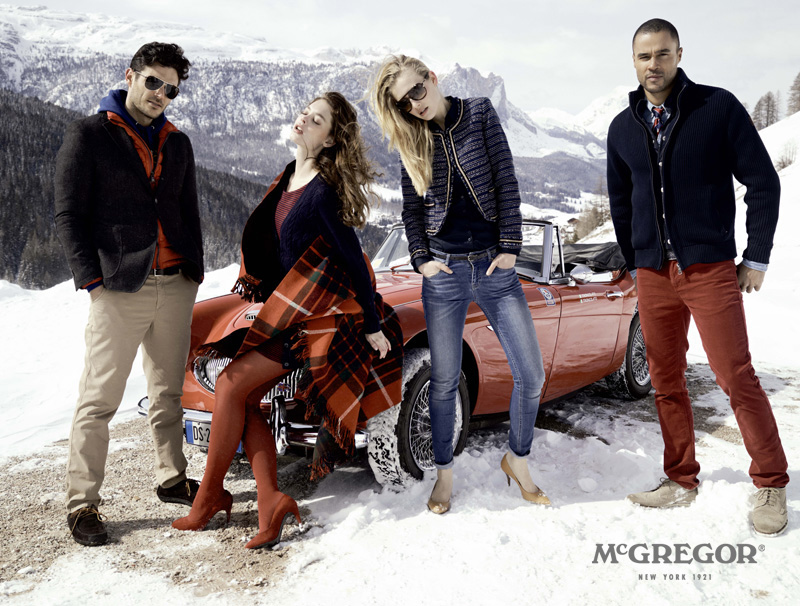 Mcgregor Herbstwinter Kollektion 2013 Preppy Looks Kombiniert Mit